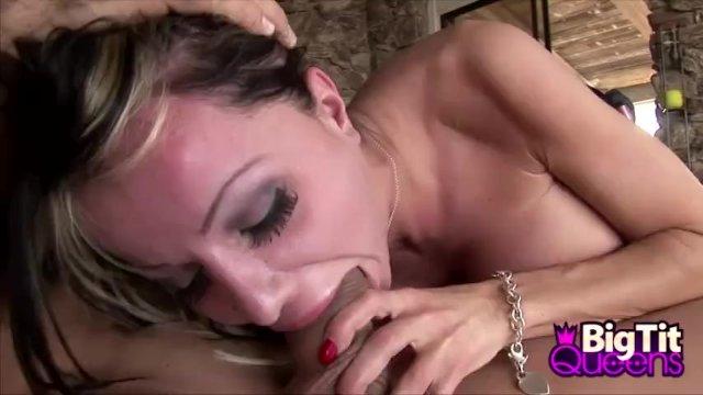 Busty Danielle Derek Cum In Mouth