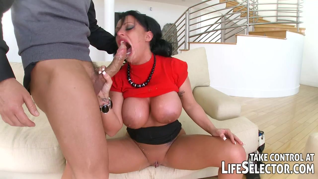 Kerry Marie Sex oralny nagie czarne rurki