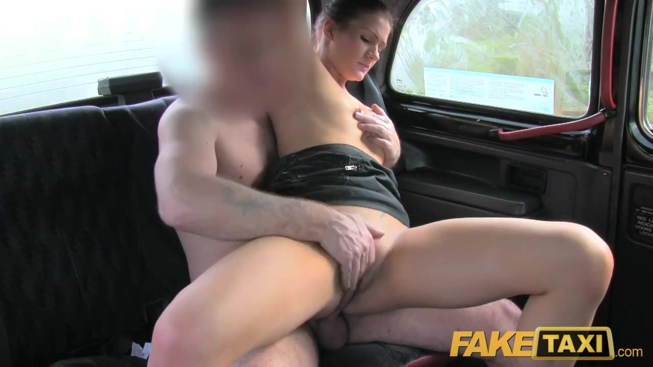 Female Fake Taxi Facial