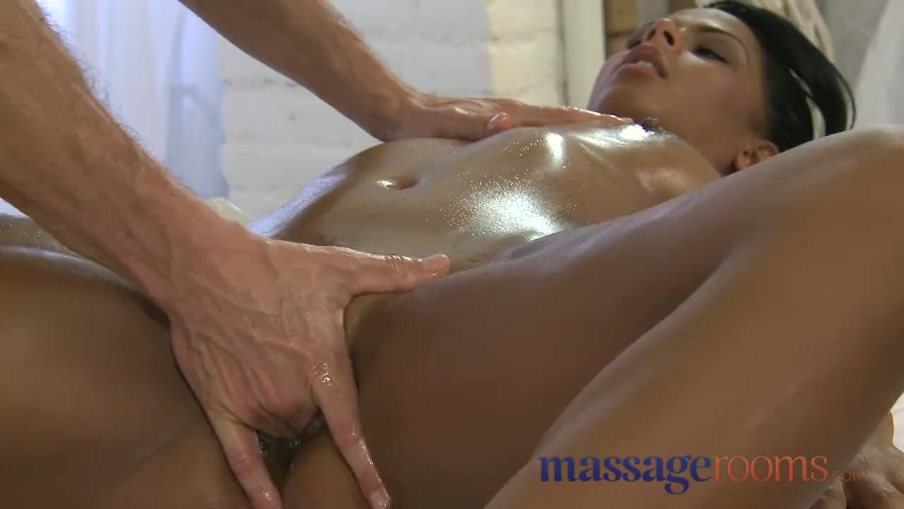 Ebony White Guy Massage
