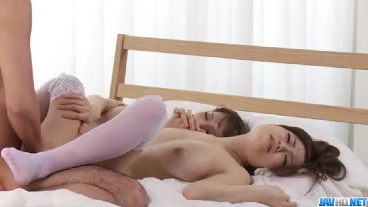 Perfect threesome porn play along sweet Nao