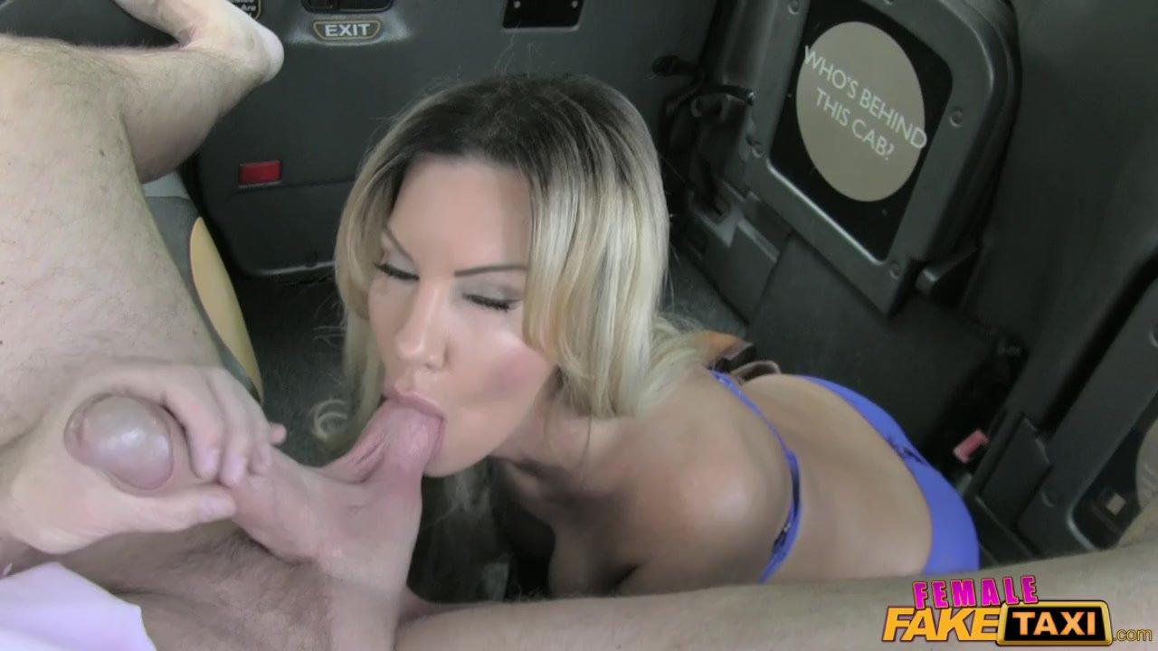 Female Lesbian Fake Taxi