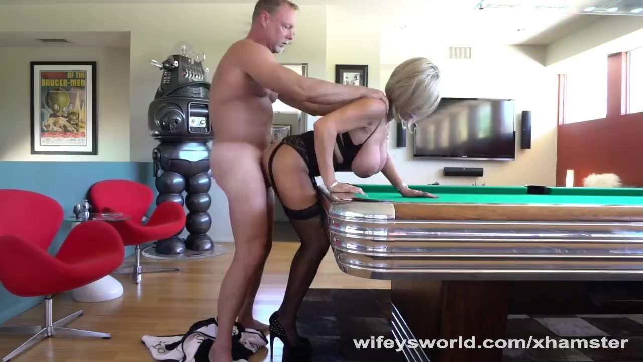 Hubby Fucks Neighbor Bent Over Pool Table  Redtube Free