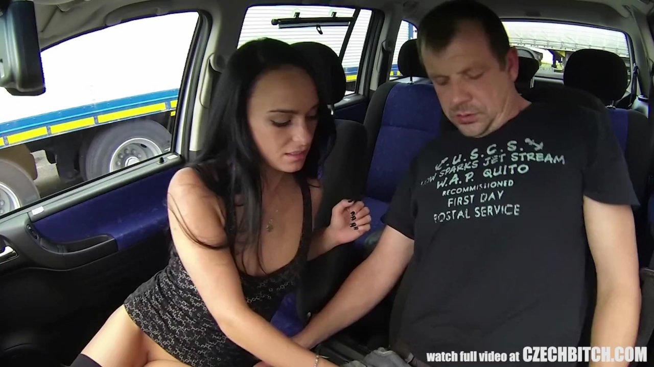 Beautiful Small Slut Fucks with Legs behind her Head