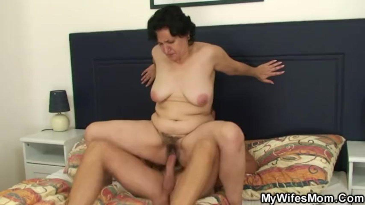 старая теща и зять порно