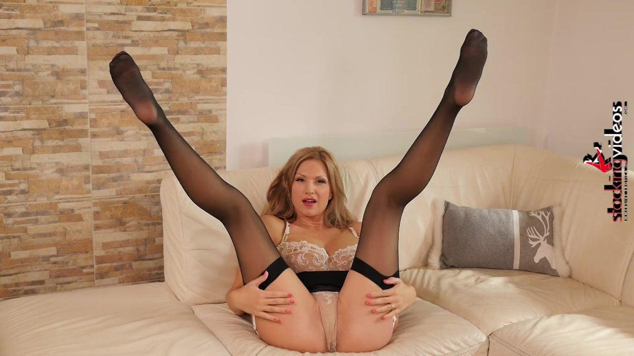 Busty Stockings Wife