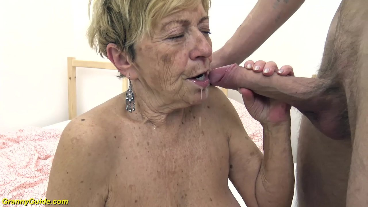 70 Year Old Granny Porn 90 years old granny gets rough fucked