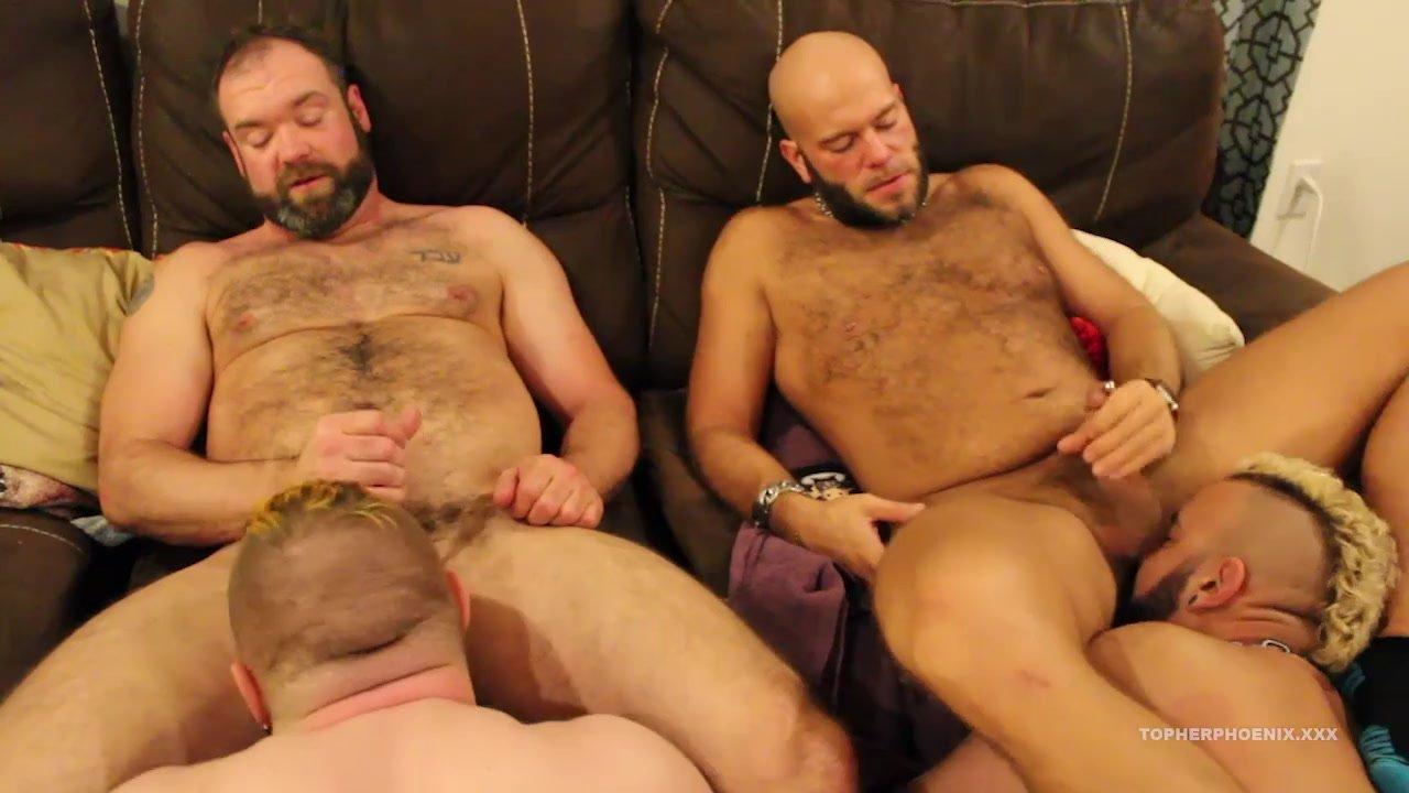 Amateur Bears Barebacking Sex Orgy  Redtube Free Gay Porn-4317