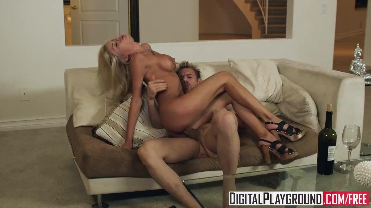 Digital Playground - Hot Blonde  Riley Steele, loves wine, netflix and big