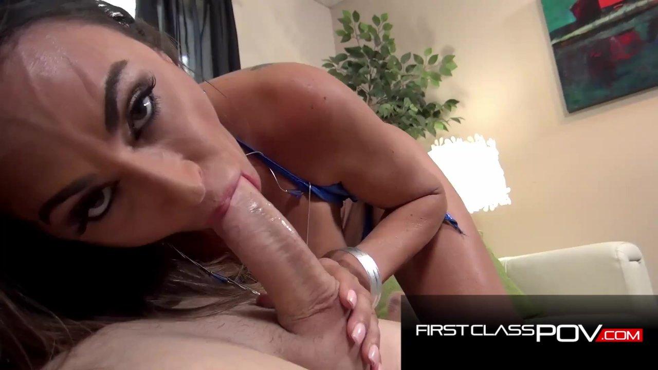 Hot MILF Claudia Valentine loves Big Cock - FirstClassPOV