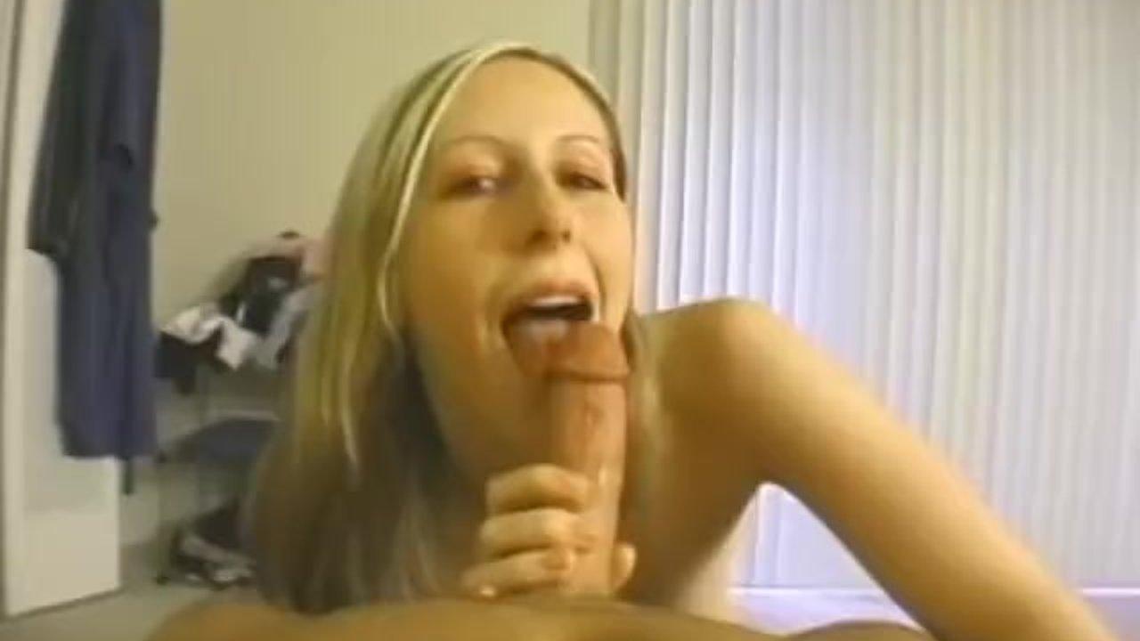 Homemade Blonde Pov Blowjob