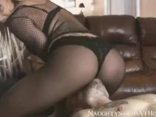 Pantyhose face sitting and pussy licking
