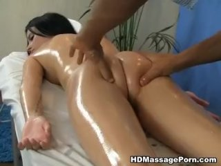 Horny Russian girl massage is all she needs