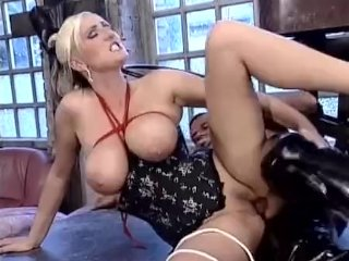 Blonde Big Tits Babe Dominates Cock