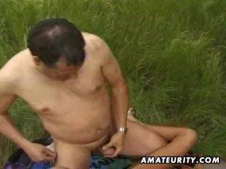 Amateur girlfriend sucks and fucks