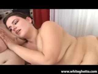 Amateur BBW lesbian foursome