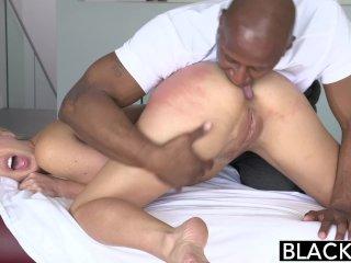 BLACKED Hot Blonde Takes Big Black Cock