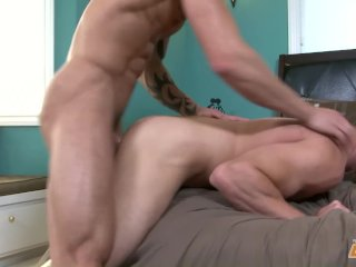 Sexy Jock Fucked By His friend