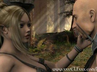 3D Hentai Vixen Loves Cock