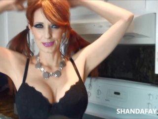 Canadian Milf Midnight Delight! Shanda Fay!