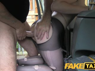 FakeTaxi – Girlfriend gets nailed taxi porn