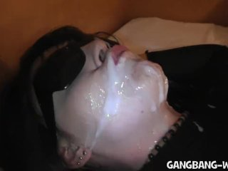 Gangbang and Pee Party at the Motel Room