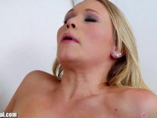 GirlsTryAnal FIRST TIME Lesbian Anal Fantasy