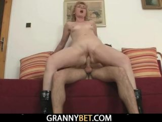 Young Guy Picks Up And Fucks Mature Blonde
