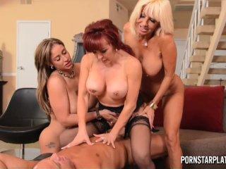 Eva Notty, Tara Holiday and Sexy Vanessa