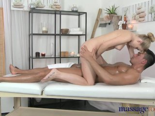 Massage Rooms Teen has petite body fucked