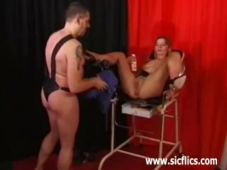 Fisted Extreme Milf And Fucked With Huge Toys
