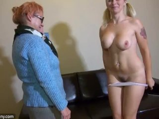 Oldnanny Young And Old Lesbian Couple Masturbate