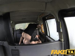 FakeTaxi Redhead with a big hairy pussy