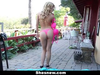 ShesNew – Jizzing On That Sexy Cute Face