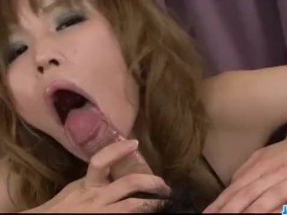 Perfect POV show along cock sucking Ai Saku