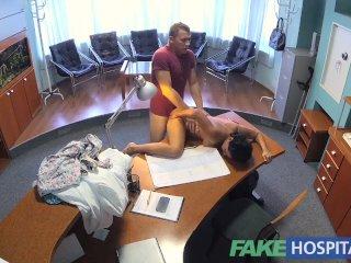 FakeHospital Doctor fucks patient on desk