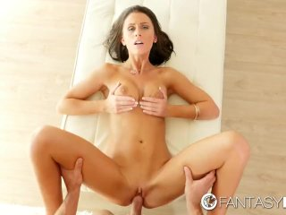 FantasyHD – Whitney Westgate jerks cock
