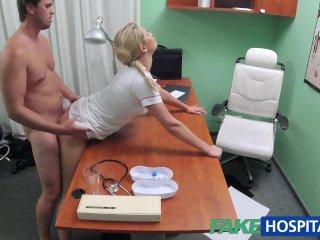 FakeHospital Nurse helps stud get erection