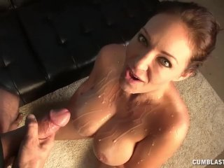 Big-titted lady wants that semen