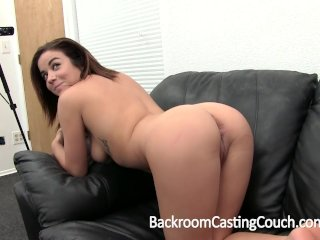 Young Waitress First Time Anal