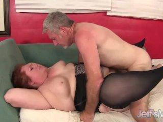 Redhead plumeper Julie Ann More gets fucked h
