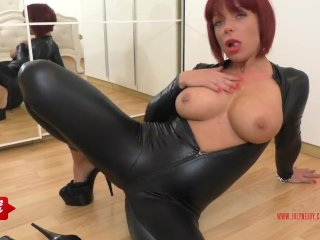 German Redhead JolyneJoy played so dirty
