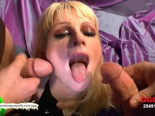 German Goo Girls -  Facial Cumshots compilati