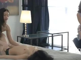 Euro Teen Erotica-triple Stacked Teens - 3 Perfect Beauties Ass Fucked