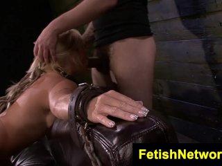 FetishNetwork Dani Dare hard bondage sex