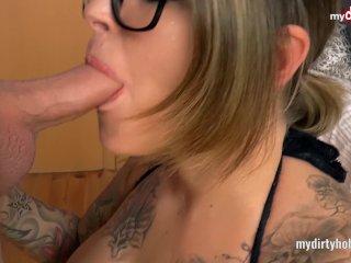 My Dirty Hobby – Merry4Fun fette Lippen, fette Titten & abgeritten