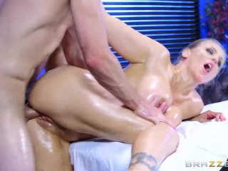 Julia Ann gets oiled up and ready – Brazzers