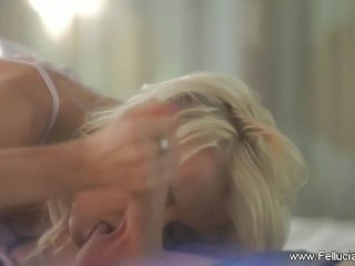 Blowjob Session In Bed