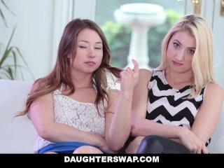 DaughterSwap – Tricking & Fucking Their Dads During Mardi-Gras