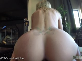 Blonde Step Daughter, Jessa Rhodes, Wants Daddy To Buy Her A Car